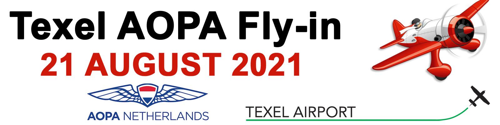 Texel AOPA Fly-in 2021 Logo